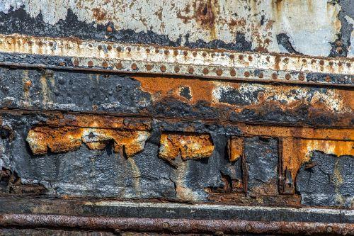 texture rust boat hull