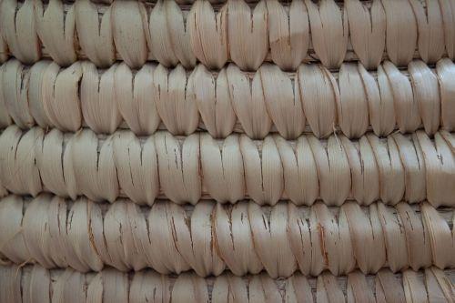 texture rattan wicker