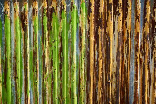 texture green metal