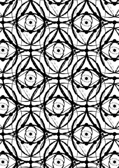 texture eye flower of life