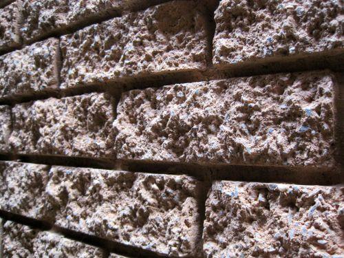 Texture Of Rough Bricks