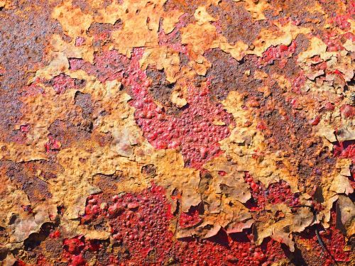 textured background rust