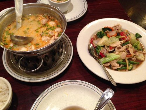thai food lunch thai