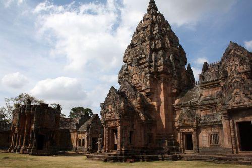 thailand temple complex ta pek