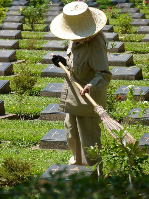 thailand war graves asia