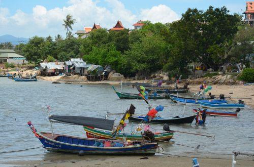 thailand boats sea