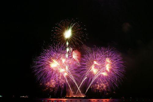 thailand pattaya firework
