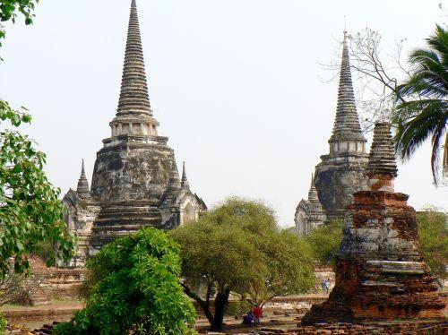 thailand ayuttaya buddhism