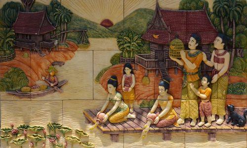 thailand women river