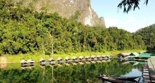 thailand reservoir cheow-lan-see