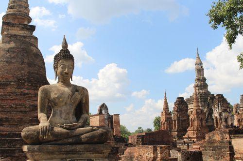 thailand buddha asia