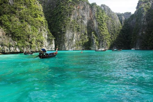 ko phi phi lee thailand beaches