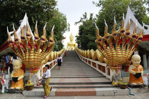 thailand yellow buddha pattaya