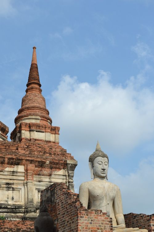 thailand buddha ayutthaya