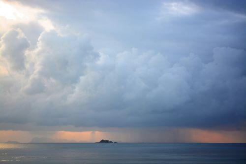 thailand kho phangan sunset