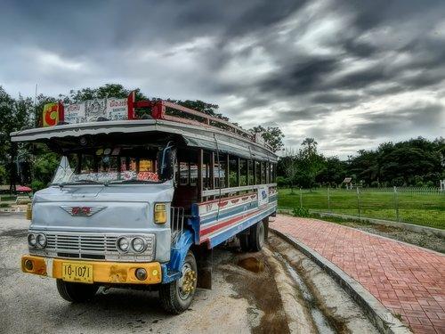 thailand  bus  asia