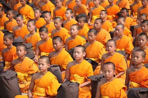 thailand buddhists monks