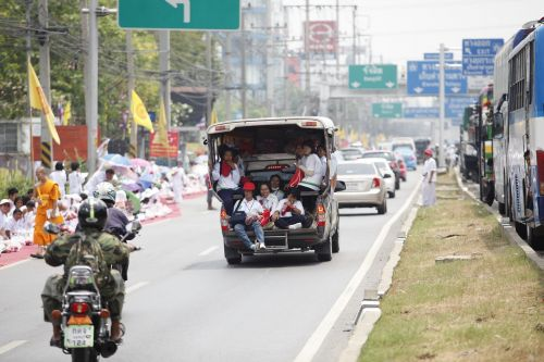 thailand street road