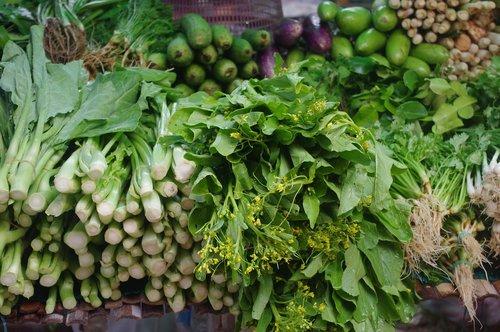 thailand-market  thai vegetables  thai kitchen