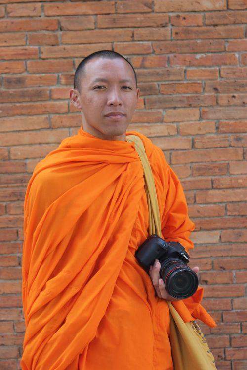 thailand monk monk face