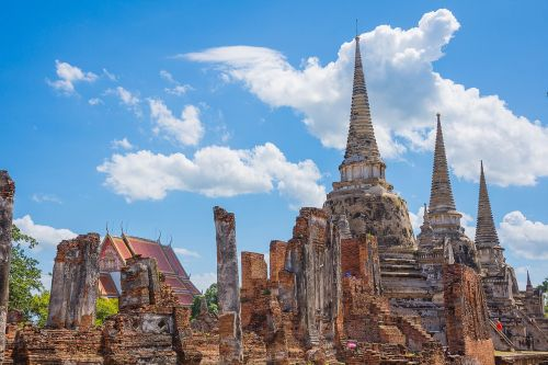 thailand sightseeing castle archaeological site