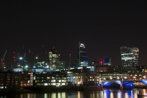 thames night london