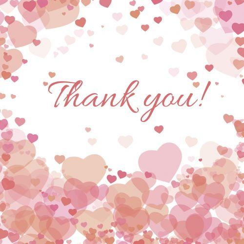 thank you love heart