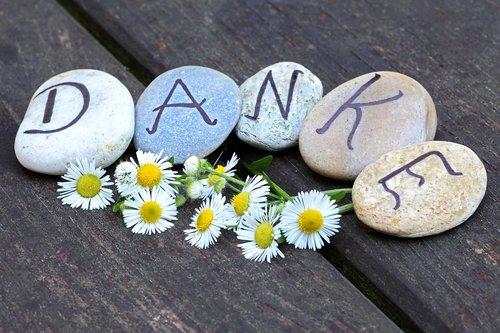 thank you  pebbles  gratitude