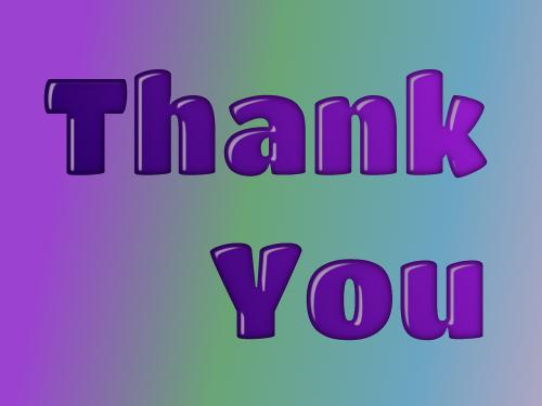 thank you gratitude grateful