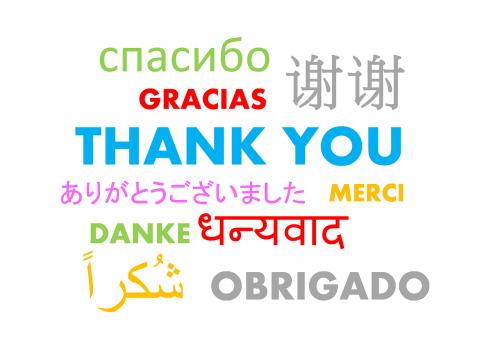 thank you gratitude appreciation