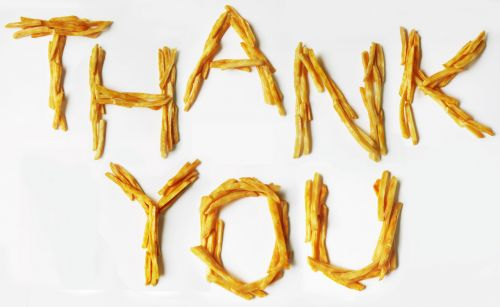 Thank You! (French Fries)