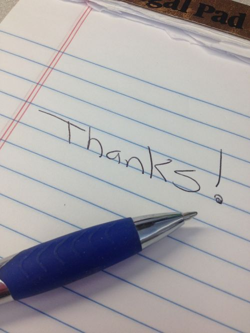 thanks appreciation gratitude