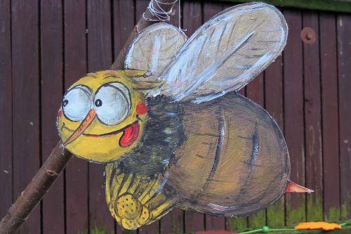 padėka,kartono figūrėlė,bičių,Maya bee