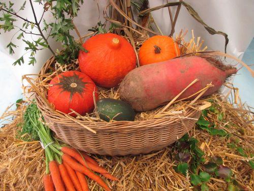 thanksgiving vegetables fruits
