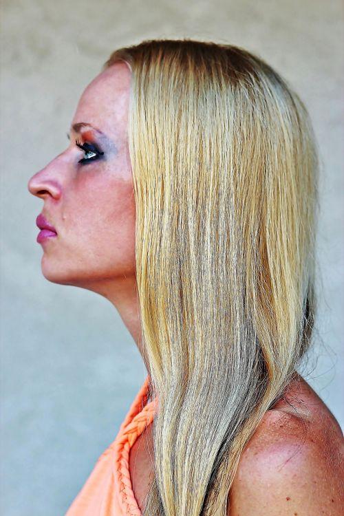 woman makeup headdress