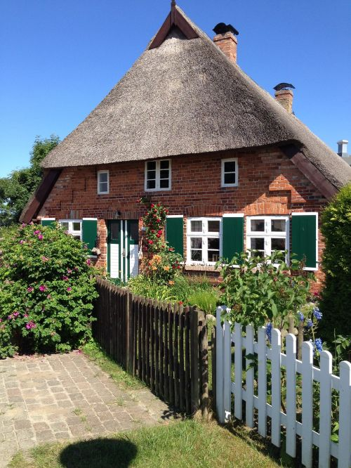 thatched roof baltic sea thatched