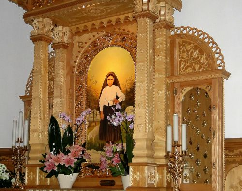 the altar side altar the art of