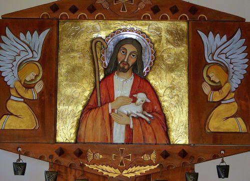 the altar jesus the good shepherd