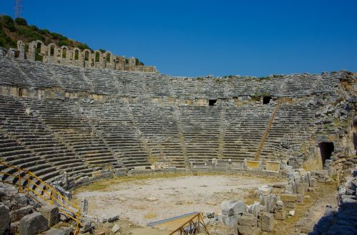 the ancient city of perga perge ancient
