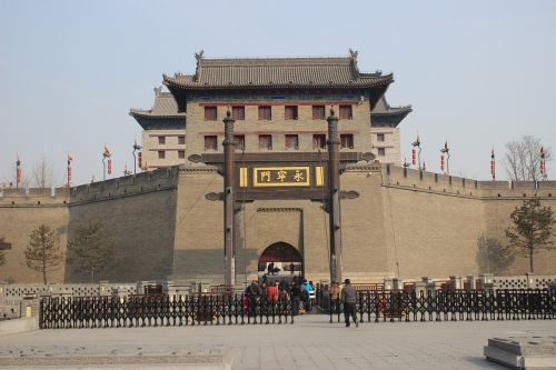 the ancient city of xian 13 dynasties city gate