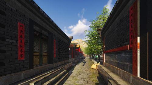 the ancient town building renovation design
