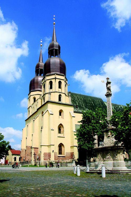 the basilica of st nicholas trnava