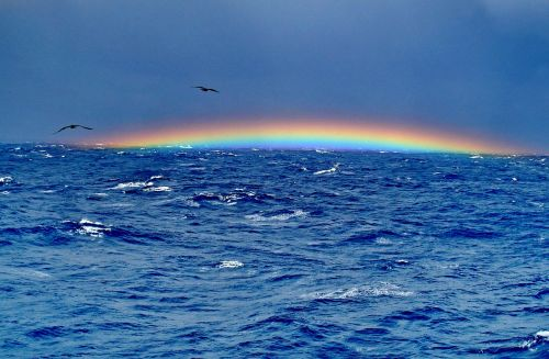 the bermuda triangle rainbow ocean