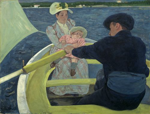 The Boating Party, 1893/1894