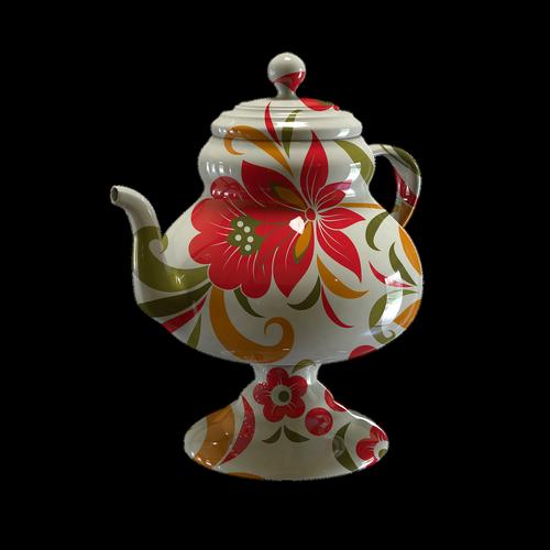 the brew kettle  porcelain  maker
