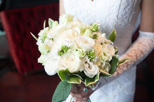 the bride  woman  wedding