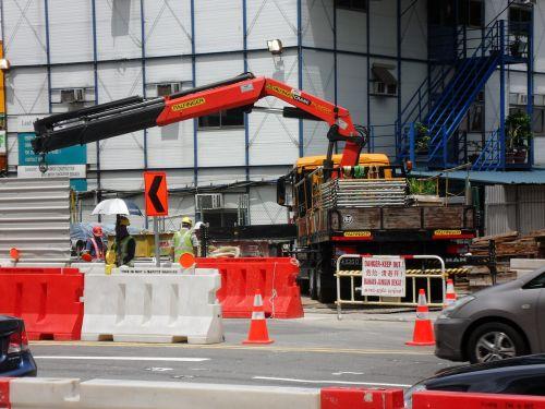 the building site city singapore