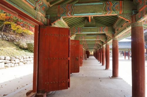 the bulguksa temple racing republic of korea