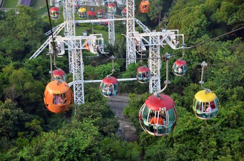 hong kong ocean park the cable car la condore
