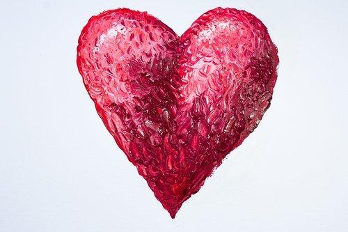 the calendar sheet  february  heart